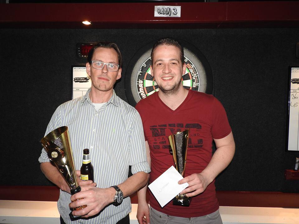 Haags koppel Kevin en Bas winnen koppeltoernooi!