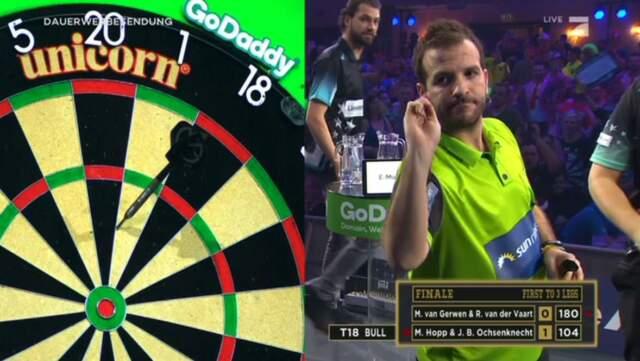 Rafael vd Vaart tijdens Denemarken Open (bekijk hier de video)