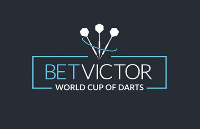 De loting World cup of darts is bekend Jermaine en Micheal gooien tegen …..